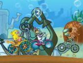 Bob Esponja Carrera De Bicicletas
