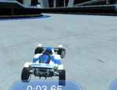 La pista de carreras