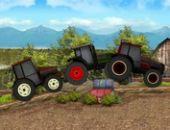 Tractor De La Granja De Servidores De Carreras